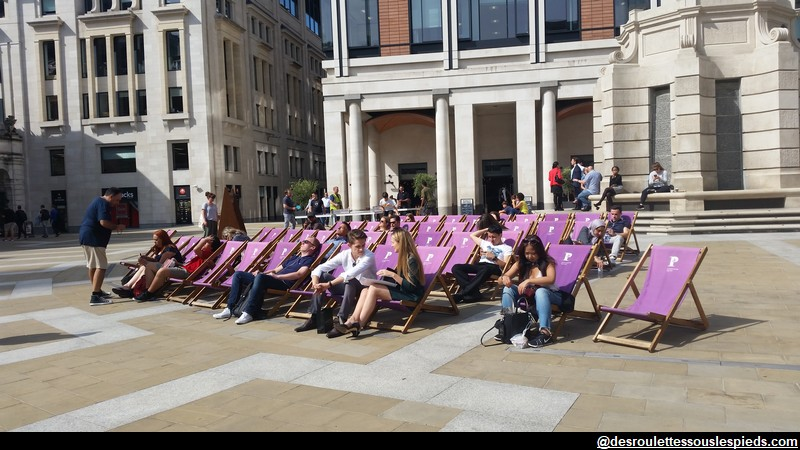 Regent's Park et Frieze Sculptures Londres au mois d'aout