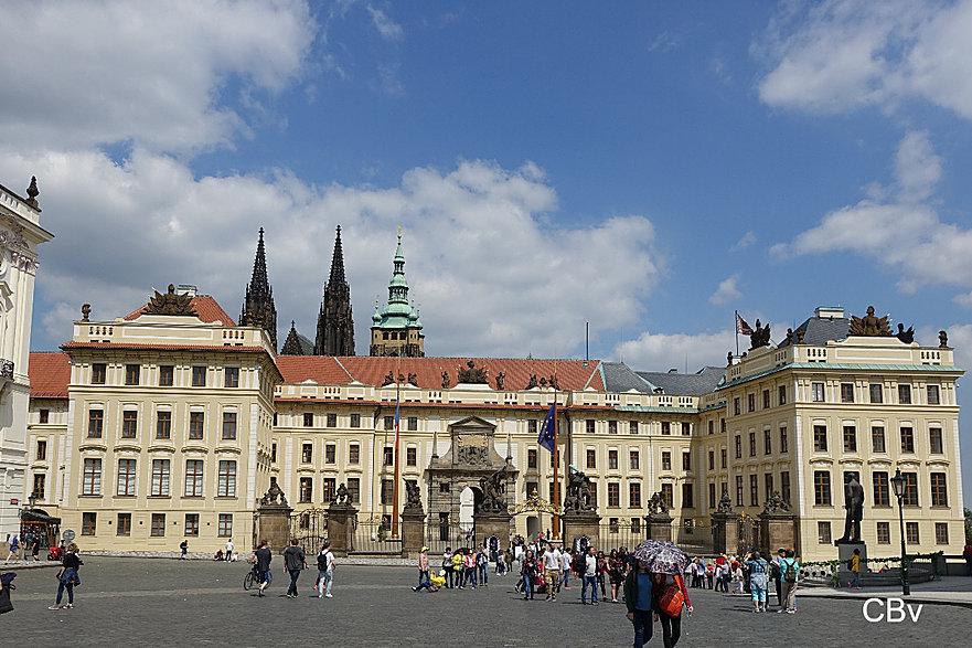 Château de Prague Entrée