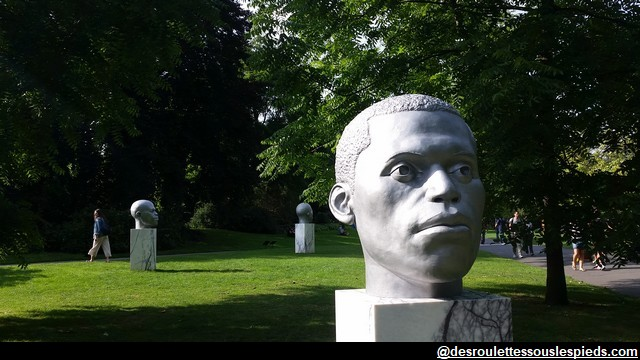 Regent's Park Portraits-africains-Thomas-J-Price-Frieze-sculpture-Londres-2017