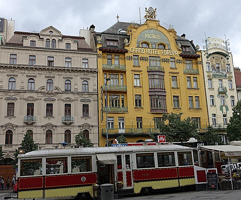 Grand Hôtel Europa dans Nove Mesto Prague