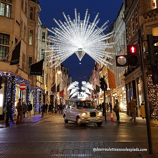 fêtes-fin-d'année- Londres-old-bond- street