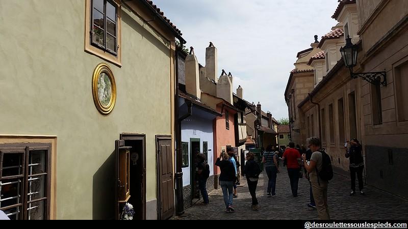 Château de Prague La ruelle d'Or