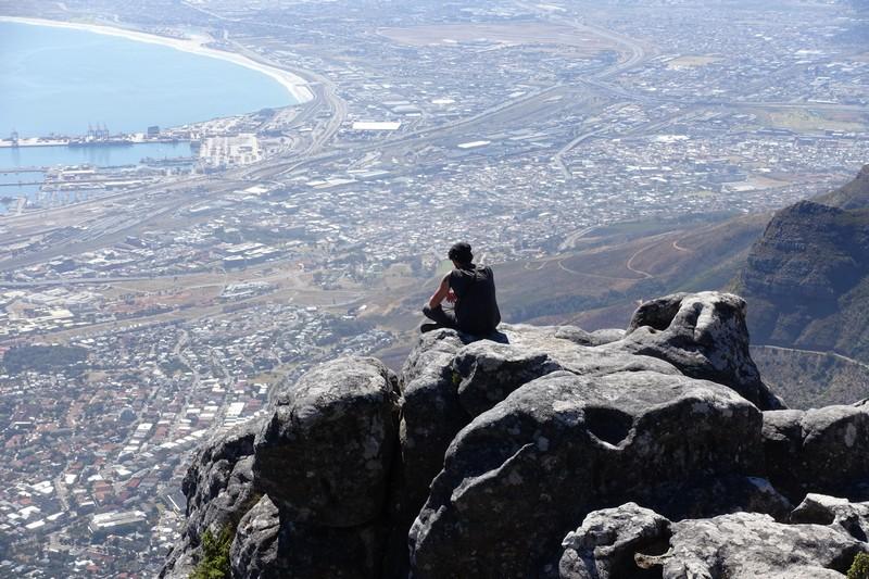 Le Cap vue Table Mountain