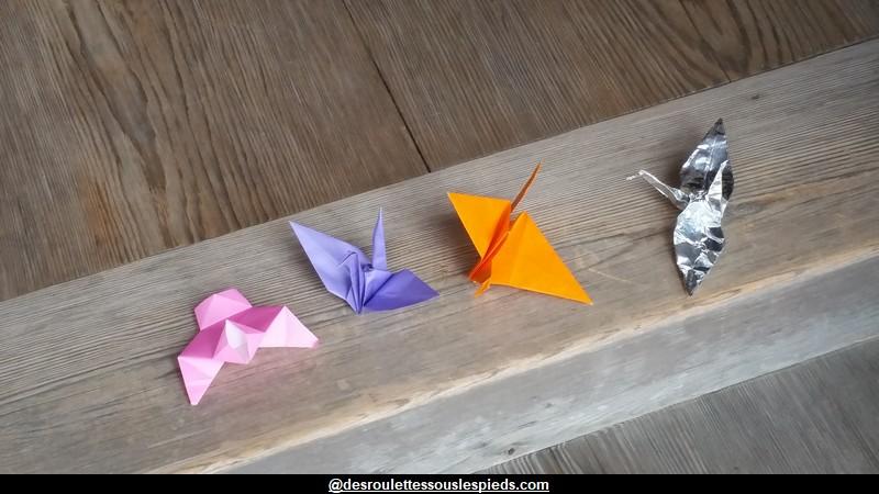 comment faire une grue en origami