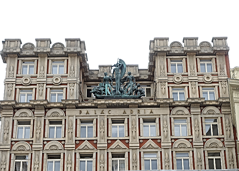 Place Adria dans Nove Mesto Prague