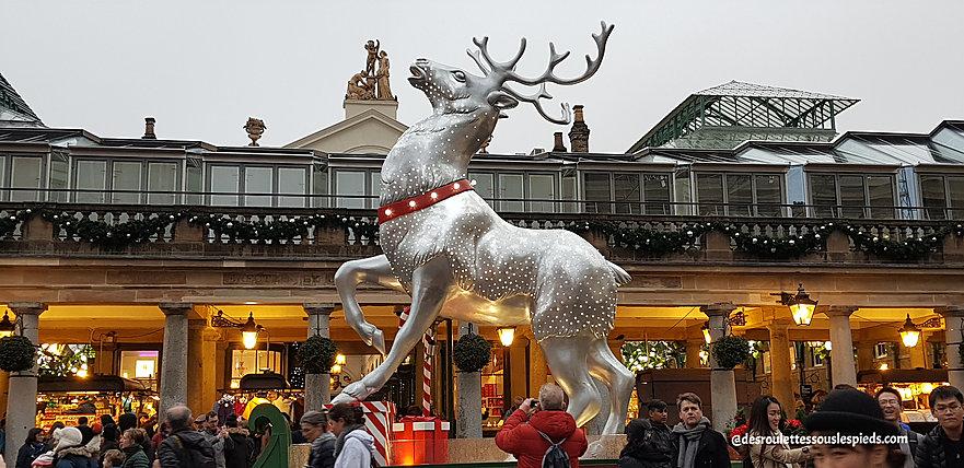fêtes-fin-d'année-Londres-covent-garden-renne