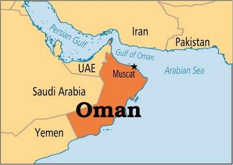 Carte-Sultanat-Oman
