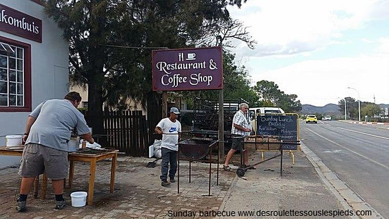 Infos pratiques Afrique du sud Sunday barbecue