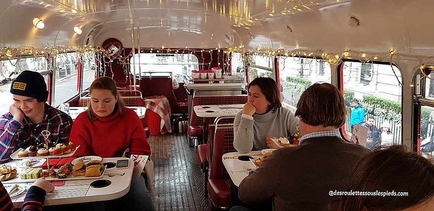 fêtes-fin-d'année-Londres-afternoon-tea-bus-tour