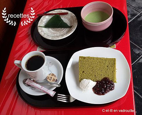 katsutera gâteau chiffon japonais
