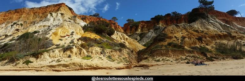 Algarve Portugal Praya Olhos de Agua.