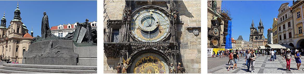 Prague Stare Mesto place de L'Hôtel de ville Staromestske Namesti