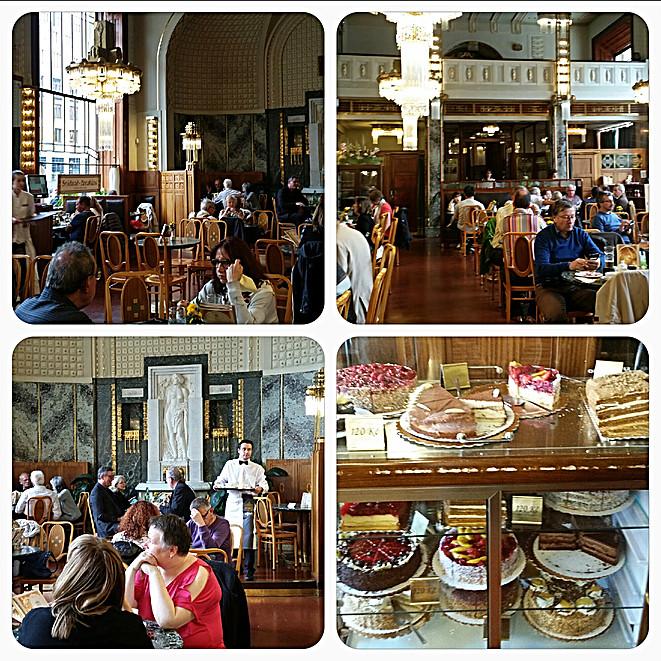Prague Stare Mesto Salon de Thé près de la Tour Poudrière