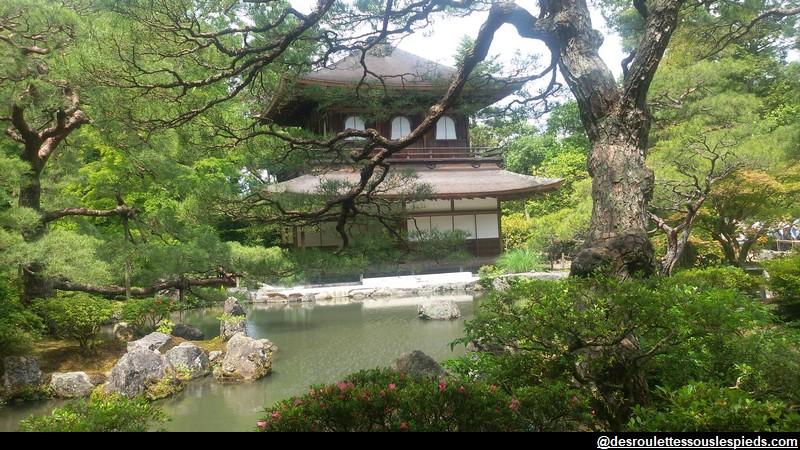 Visiter Kyoto ses incontournables Temple d'argent - Ginkaku-ji