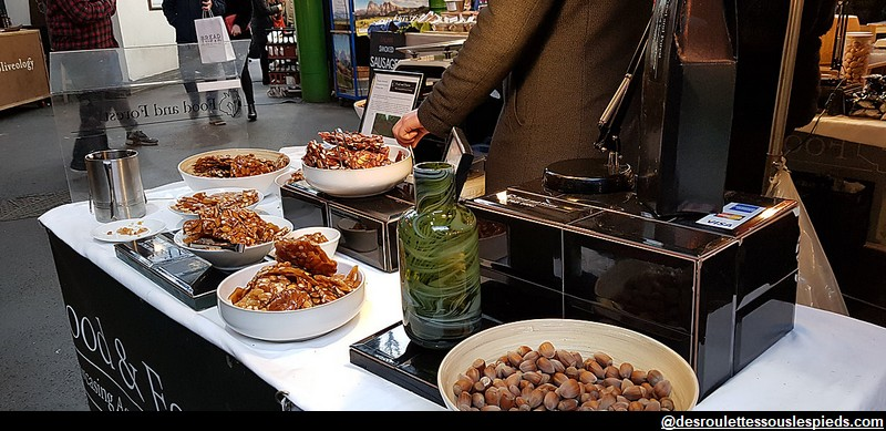 Borough Market amandes californie