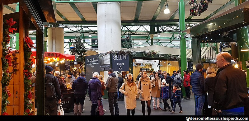 Borough Market marché Londres