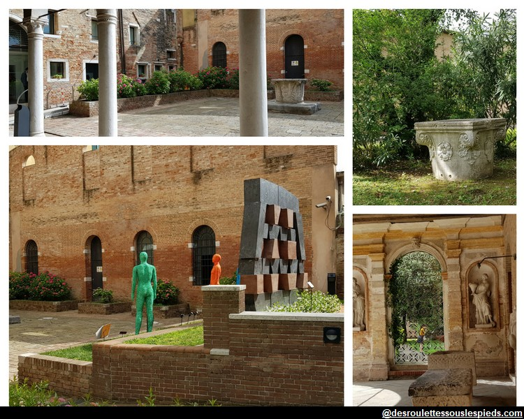 jardin du musée du verre ile de murano