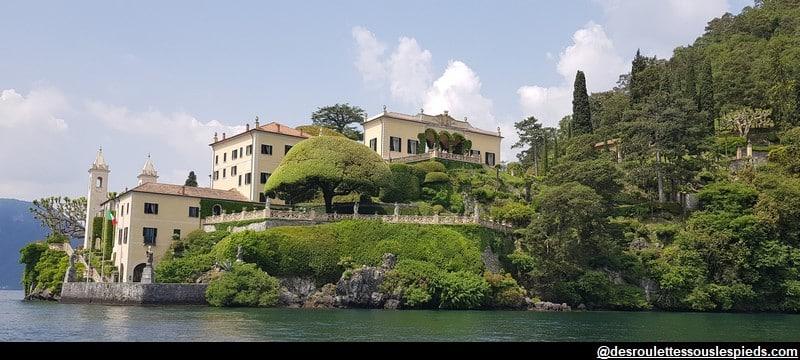 lac de côme villa balbianello