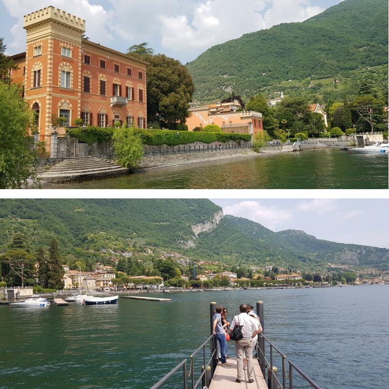 lac de côme villa balbianello embarcadère leno