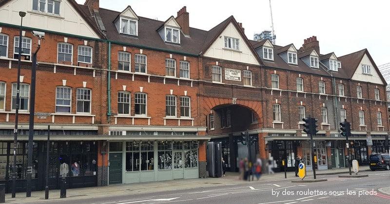 sur les traces de jack l'éventreur entrée principale de Old Spitafields Market