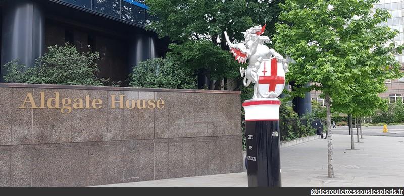 Sur les traces de Jack l'éventreur Aldgate House