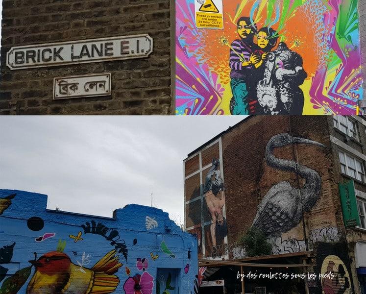 Sur les traces de jack l'éventreur street art bricl lane