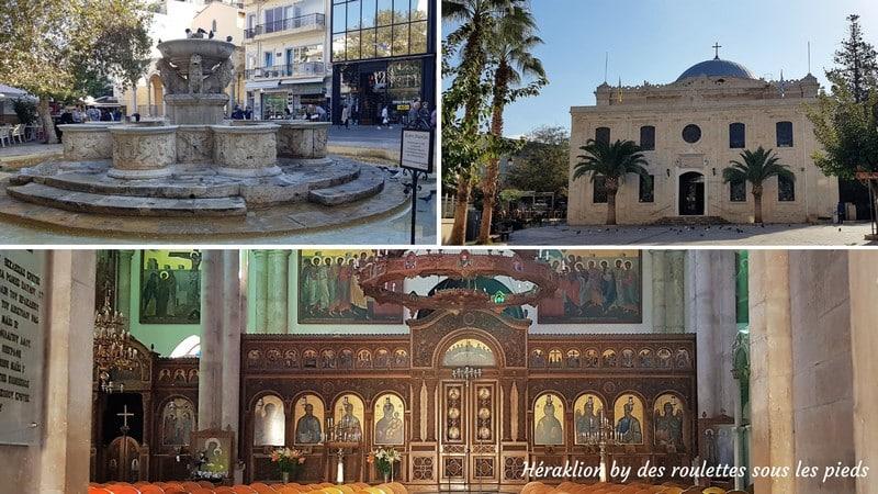 visiter crete ouest héraklion