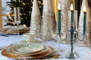 noël en provence chandelier 3 bougies