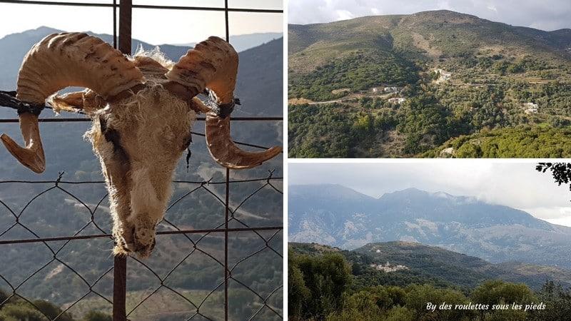 visiter crete ouest montagne blanche