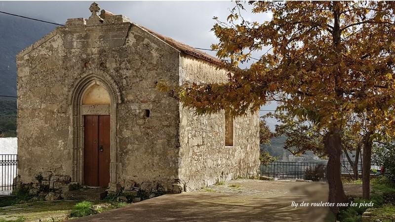 visiter le centre de la crète église byzantine