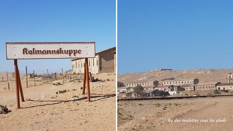 road trip namibie kolmanskop