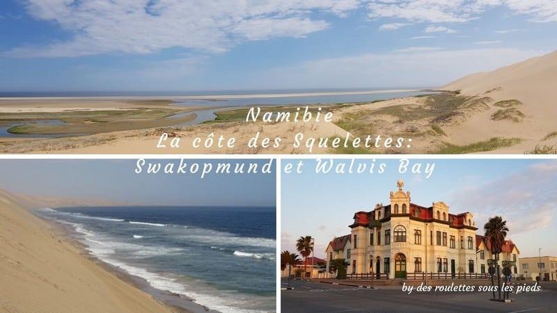 La côte des squelettes en Namibie, road trip 3 Swakopmund et Walvis Bay