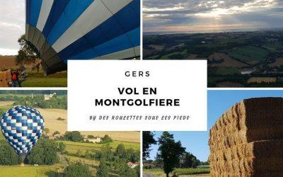 Vol en montgolfière dans le Gers, le paysage sous un autre angle