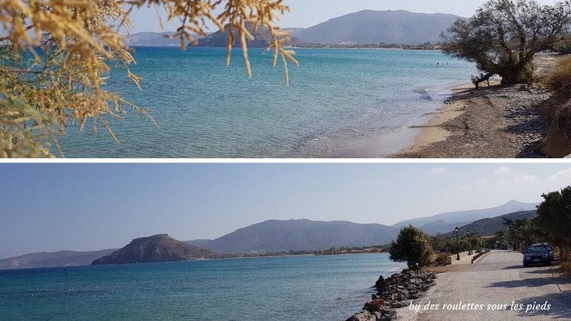 Visiter l'est de la crète plage palekastro