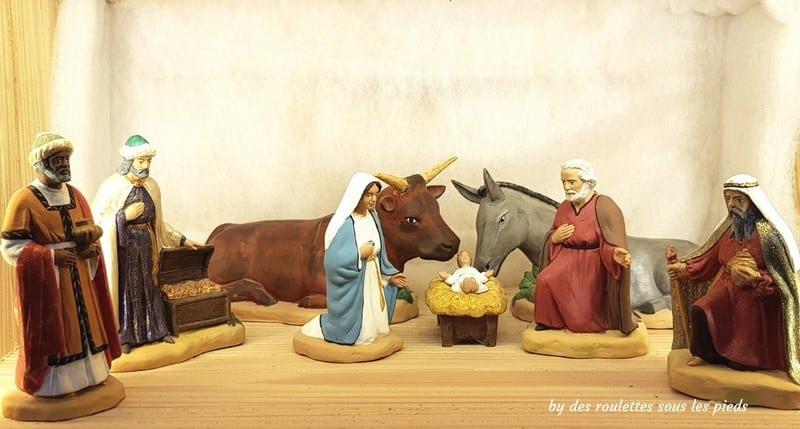 crèche provençale la sainte famille