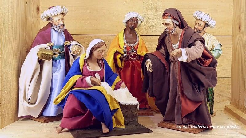 la crèche provençale santons habillés aubagne