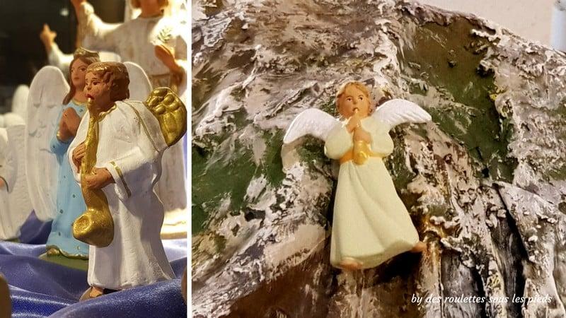 santons de provence l'ange boufareau