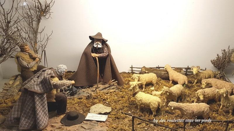 santons de provence les bergers
