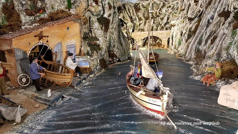 santons de provence les pêcheurs