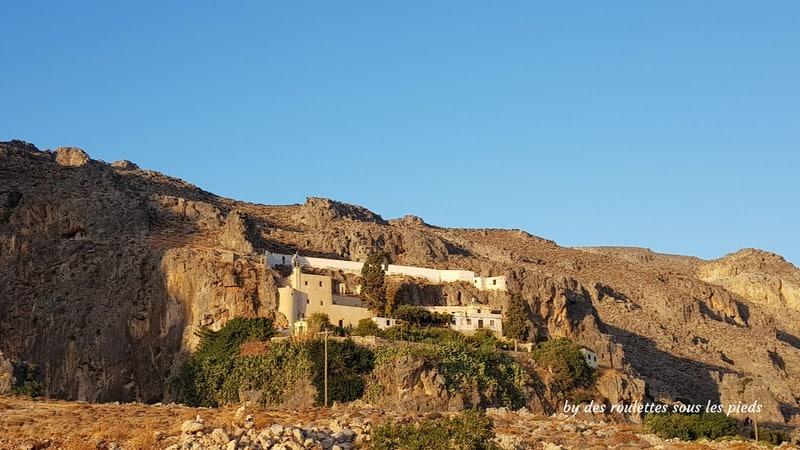 Visiter l'est de la crète monastère de kapsa