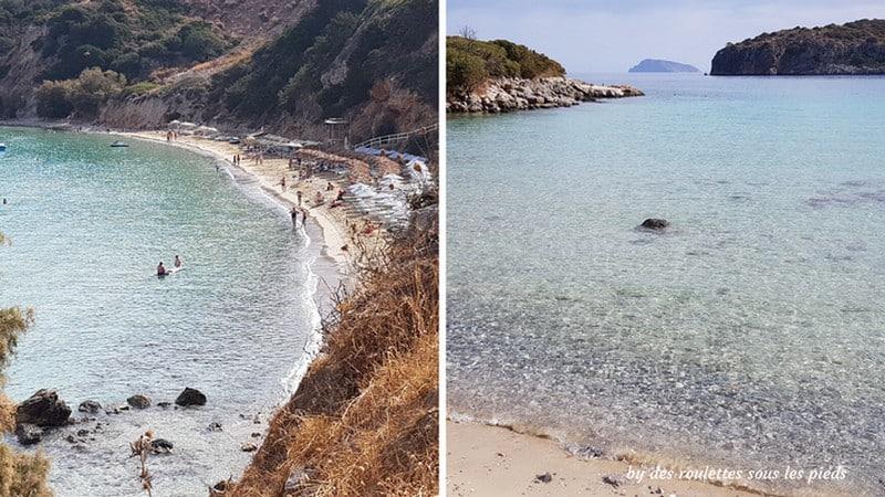 Visiter l'est de la crète plage dr Voulisma