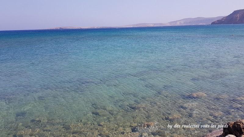 Visiter l'est de la crète plage itanos