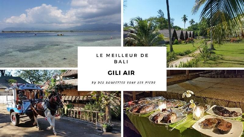Le meilleur de Bali : deux jours à Gili Air