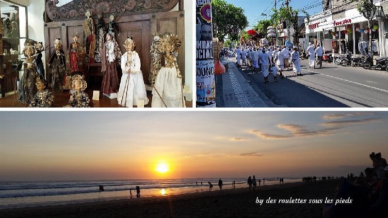 visiter le sud de Bali plage et ville seminyak