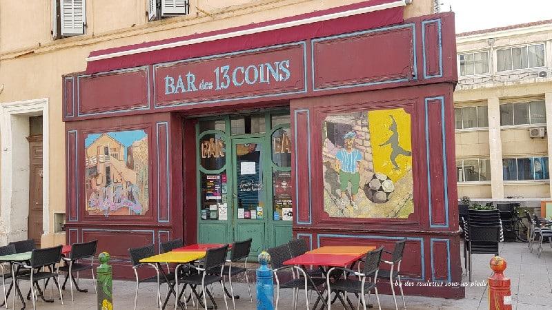 visiter le panier à marseille bar des 13 coins
