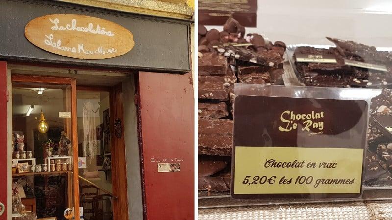 visiter le panier à marseille chocolaterie du panier