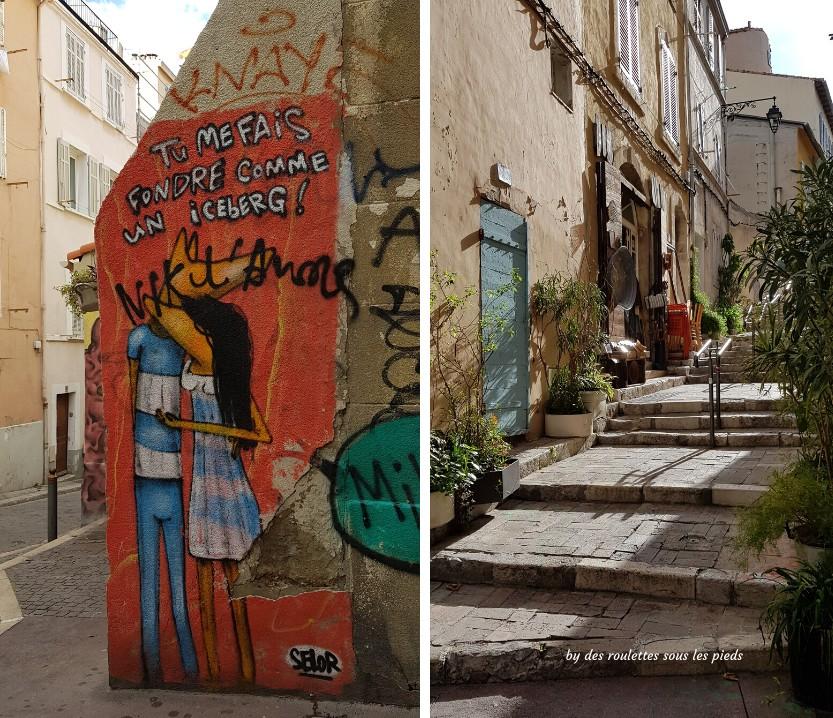 visiter le panier à marseille fresque street art