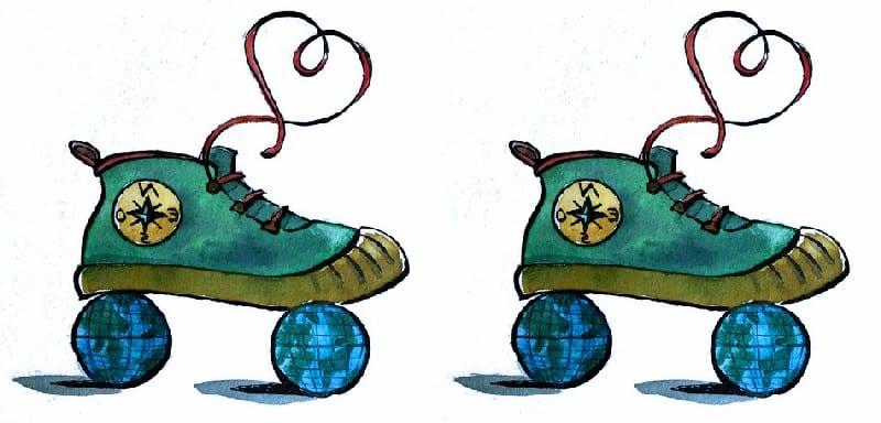 Des roulettes sous les pieds