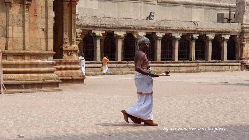 visiter la région de tanjore au tamil nadu thanjavur temple brahman