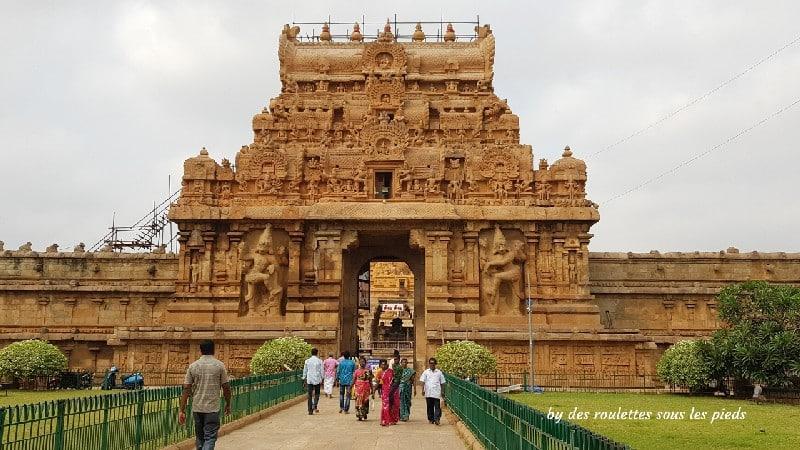 visiter la région de tanjore au tamil nadu thanjavur temple